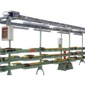 Anzani Machinery | Multiplex Contact | Lasting and finishing conveyors